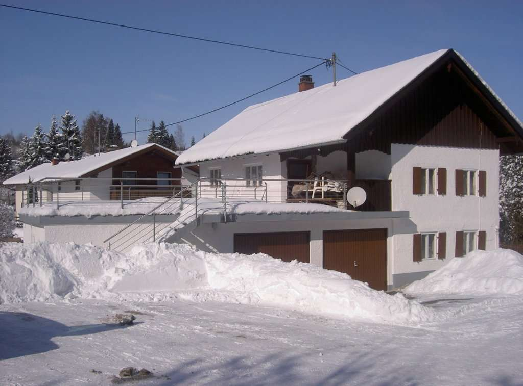 Haus Frieda im Winter